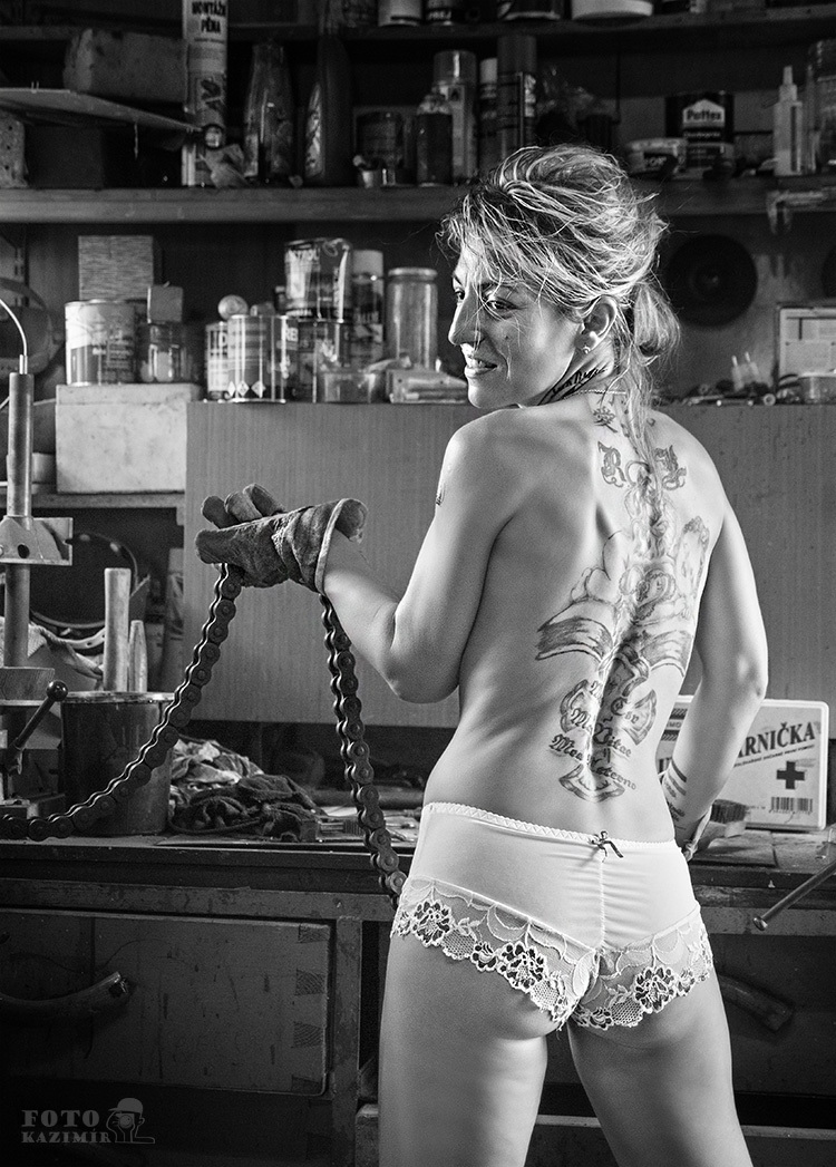 Tattoo woman 1