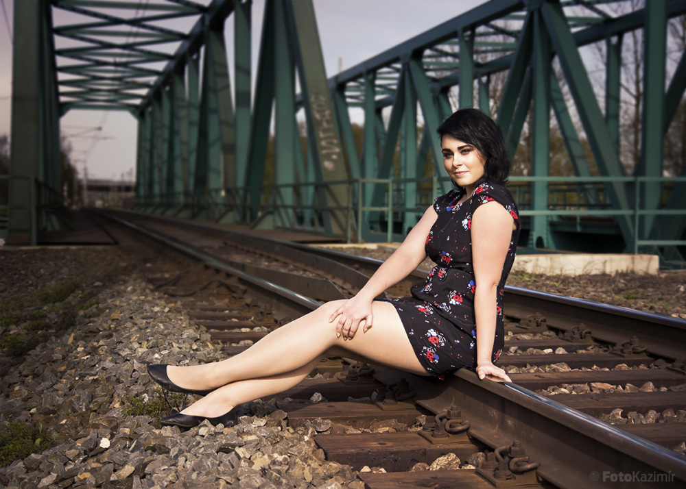 Lady on rails