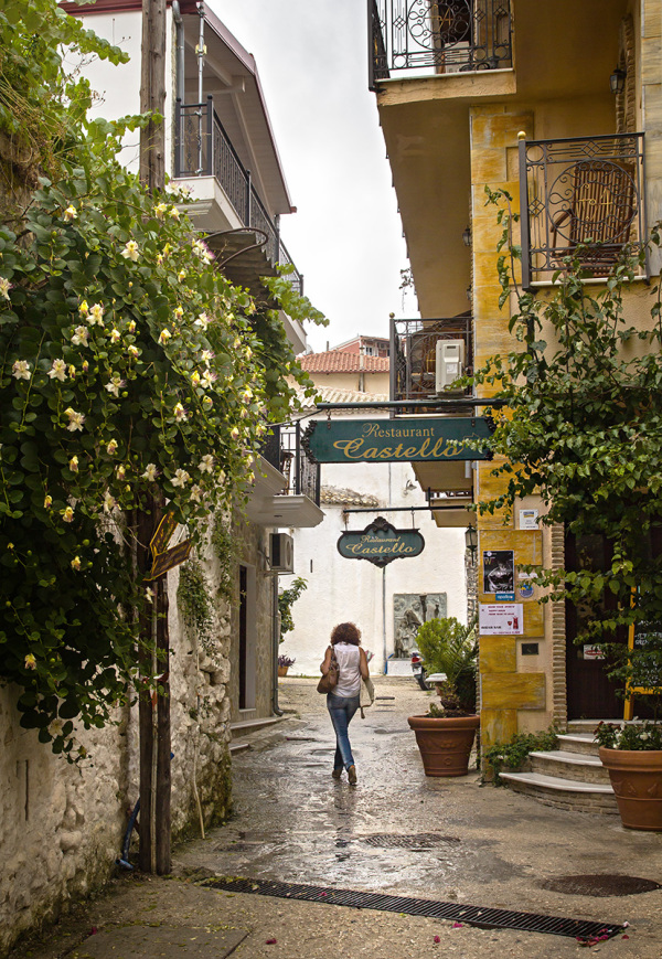 Street of Parga