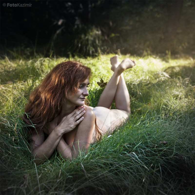 Erika_In the grass