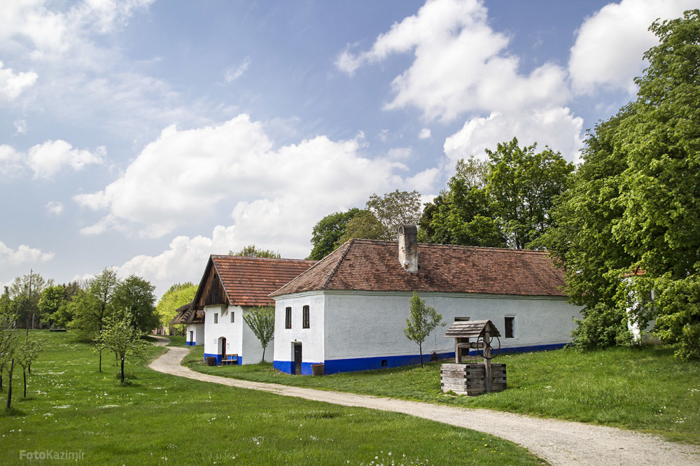Old Moravian village