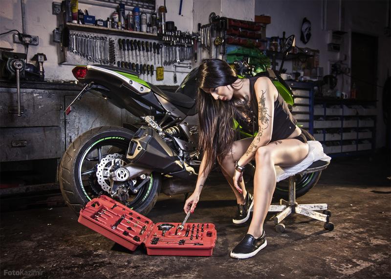 Warehouse girl