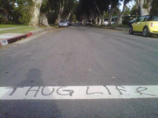 graffiti thug life