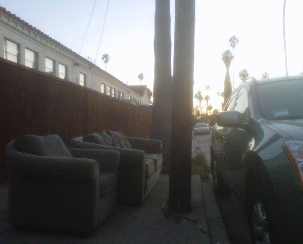 couches on curb
