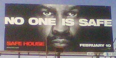 safe house billboard