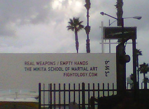 martial arts sign