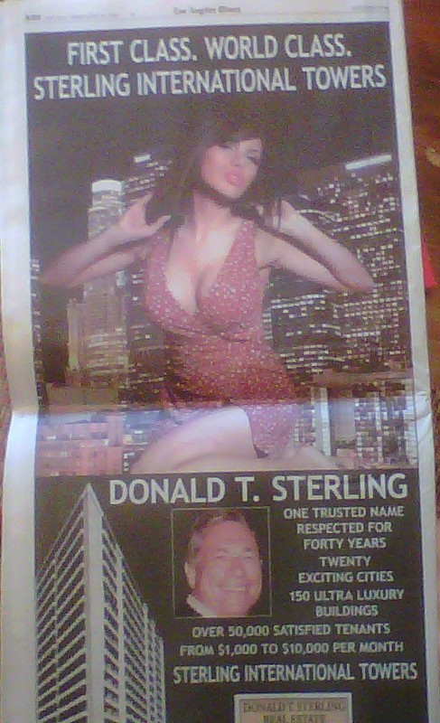 donald sterling ad