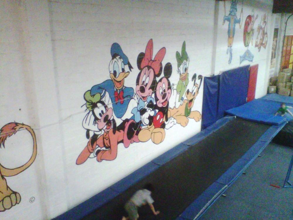disney mural