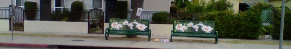 bus bench