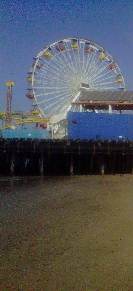 ferris wheel santa monica pier