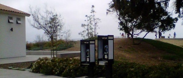 payphone at rest area