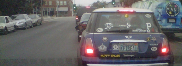 license plate pittsburgh