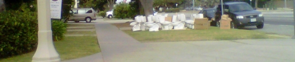 toilets on the curb