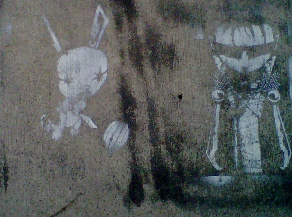 rabbit graffiti