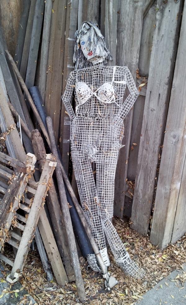 wire female sculpture