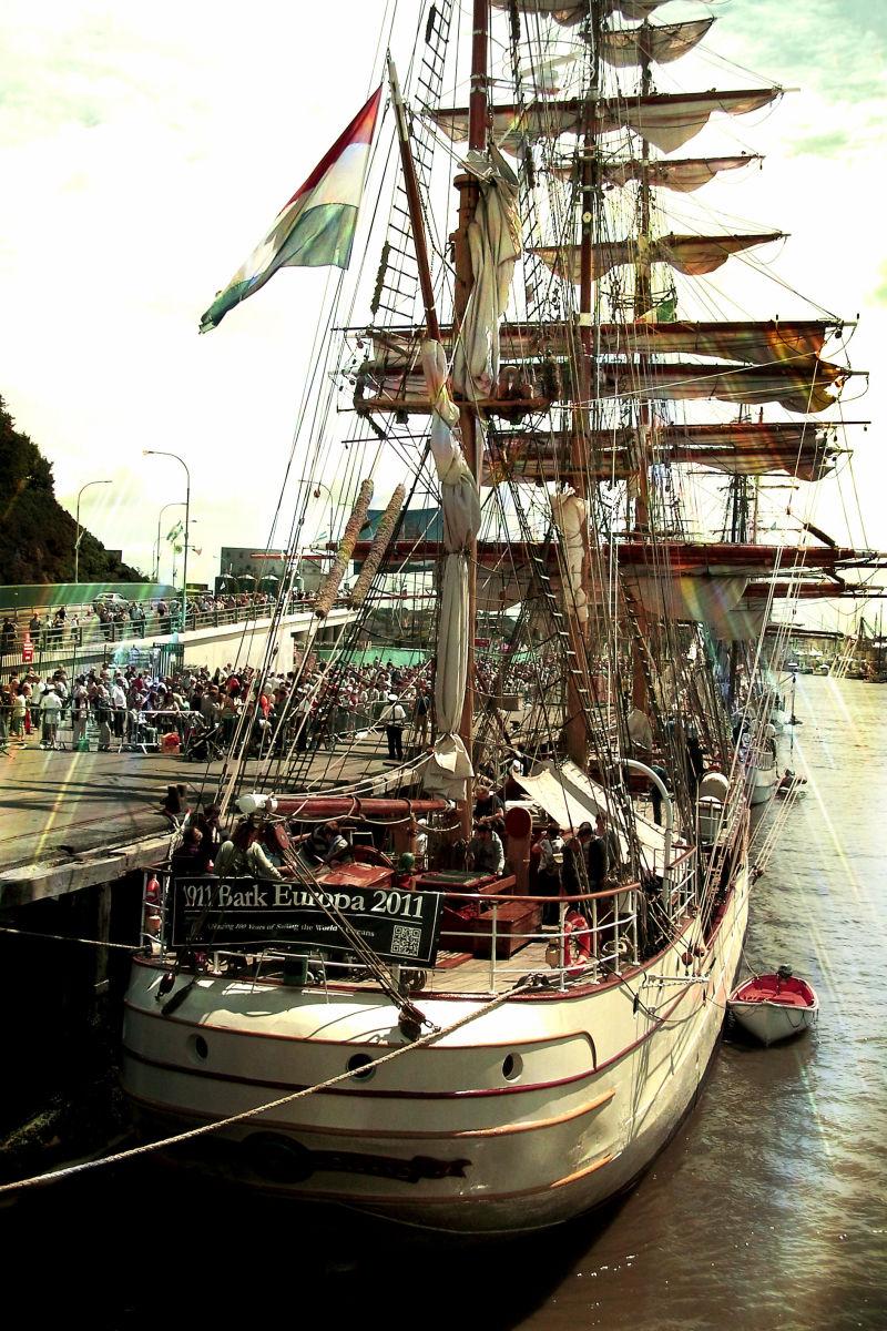 Tall Ship's Boat