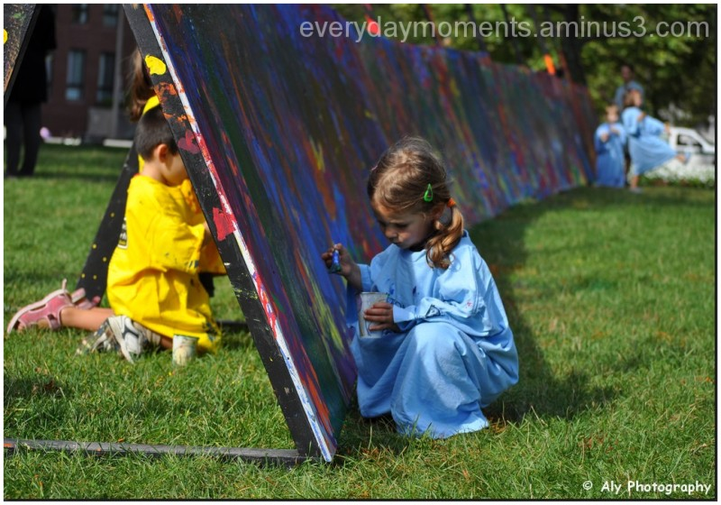 Little girl a great artist