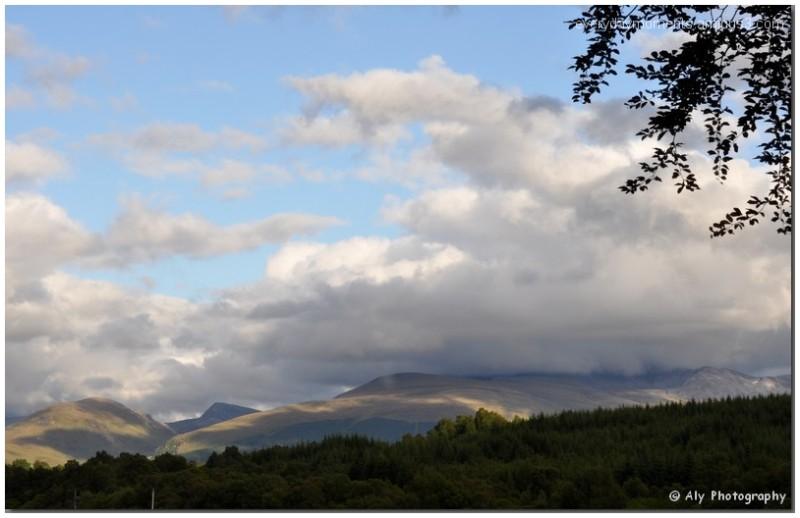 schotland,juni,highlands
