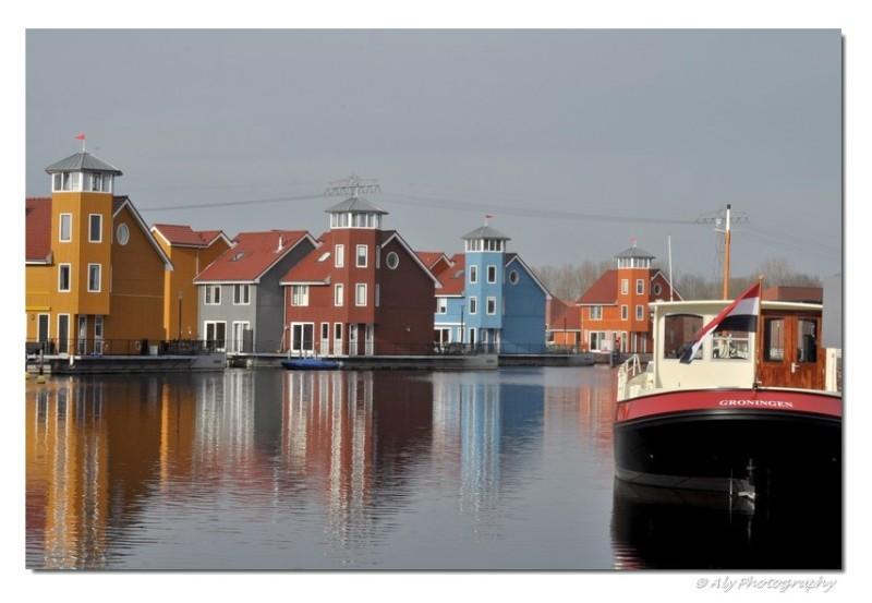 colorful harbor