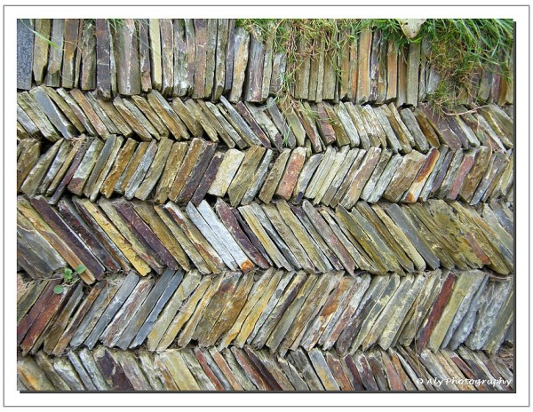 nicely stacked wall