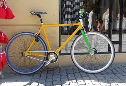 Fixie, bike,Denemarken,Odense