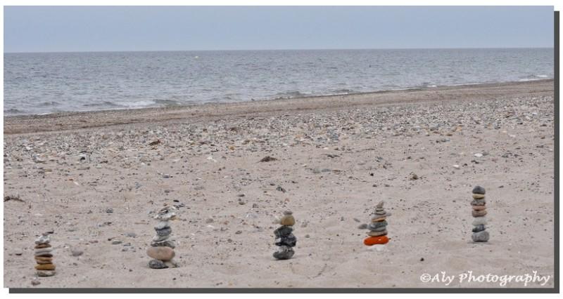 stenen torens, strand,zee