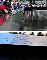 9-11  Memorial monument -  New York