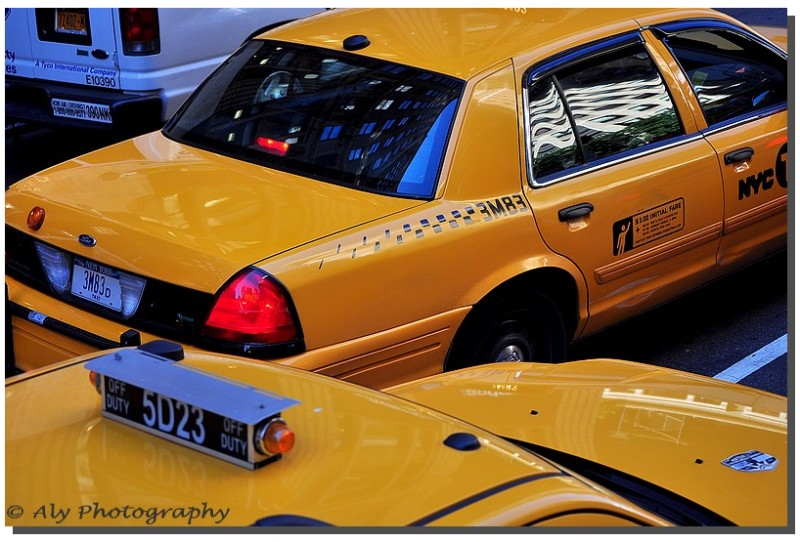 taxi`s New York,yellow cab
