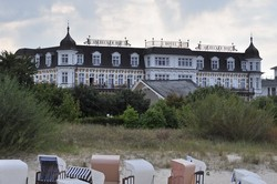 Ahlbeck,badplaats,Oost Duitsland .Usedom