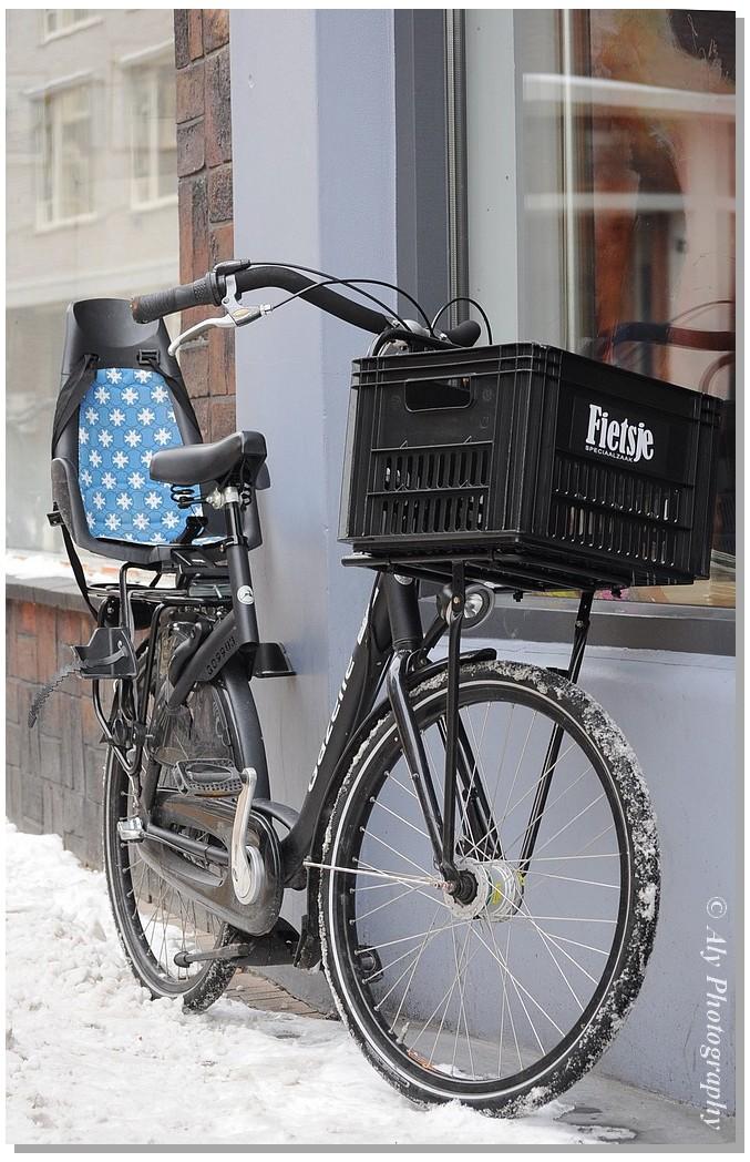 fietsje,Groningen city,winter