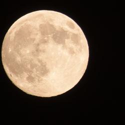 Super moon  22 june 2013