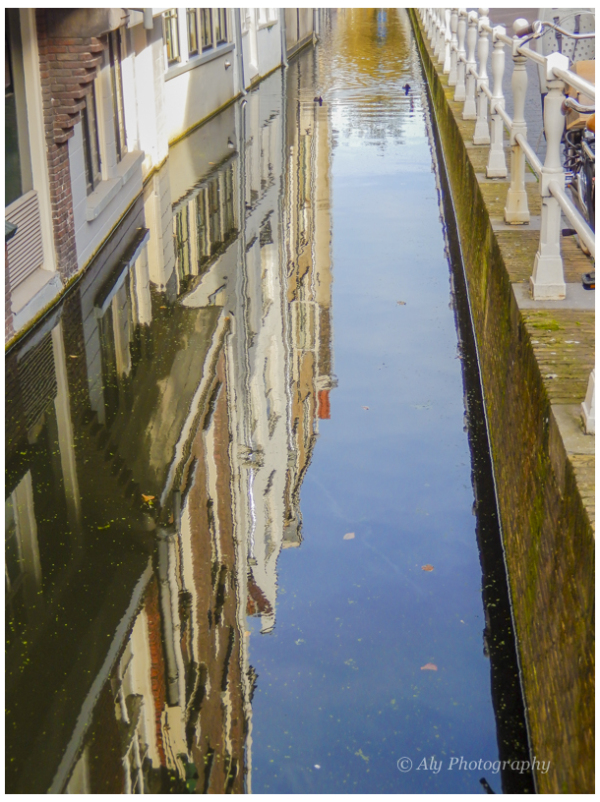Delft  Holland  reflection. 2