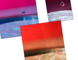 experiment water drops
