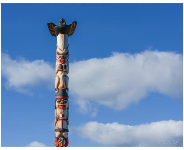 Totem Pole  Whitehorse Yukon