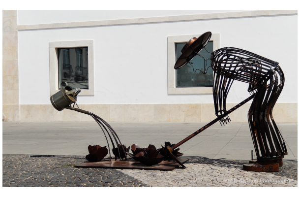 Street art - Vila Real de Santo António Portugal