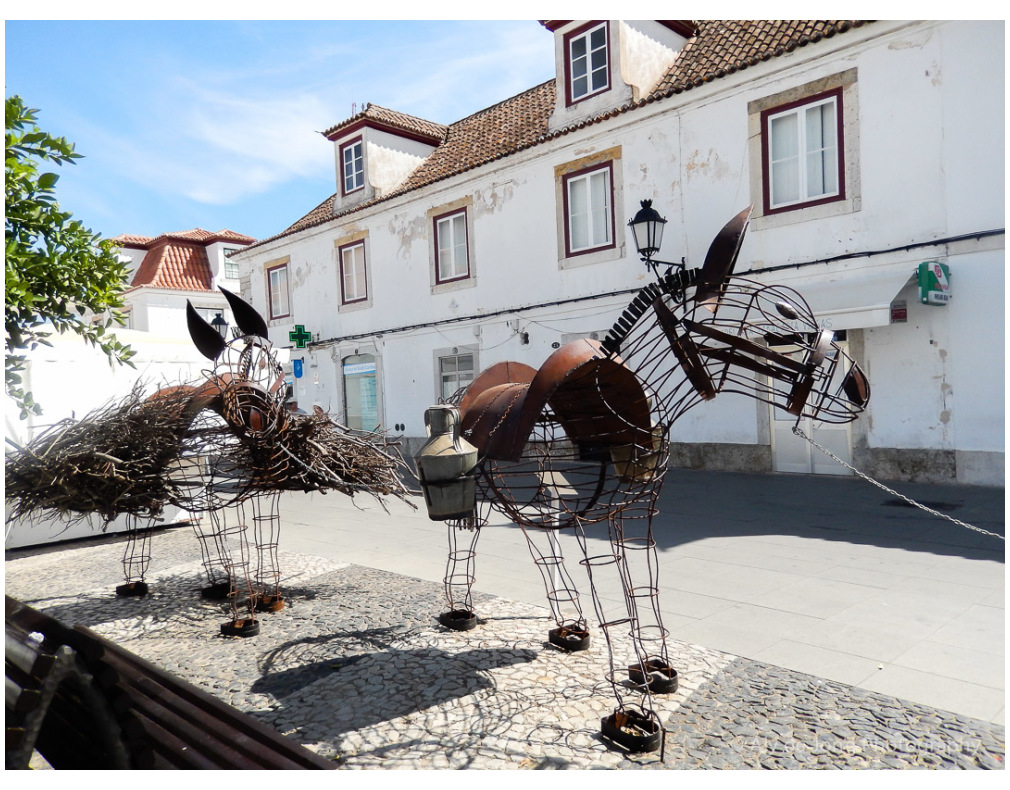 Street-art Vila Real de Santo António Portugal