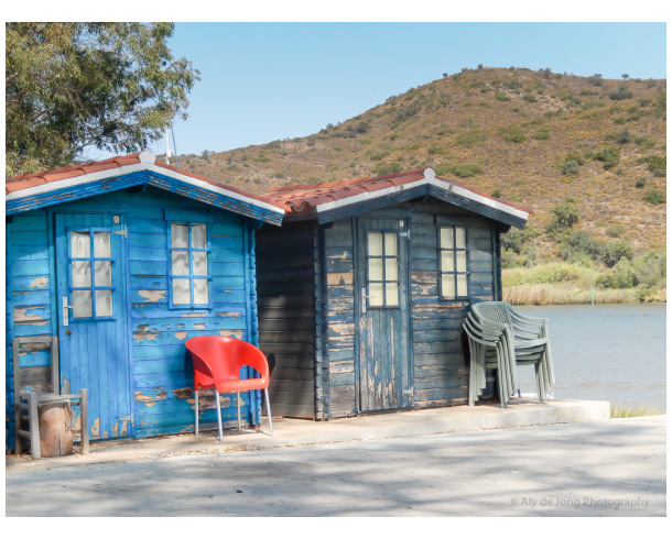 Fishermen's cabins - the Guadiana River