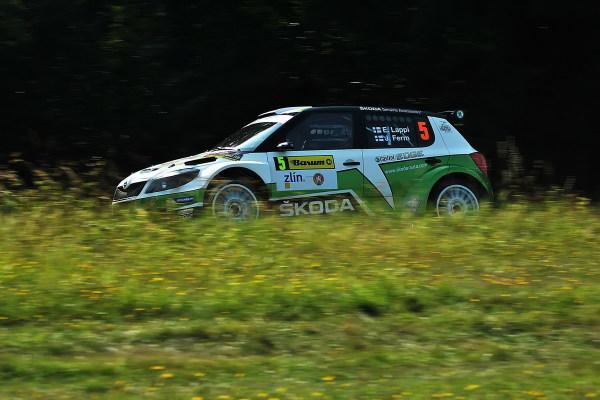 Lappi in Barum Czech Rally Zlín