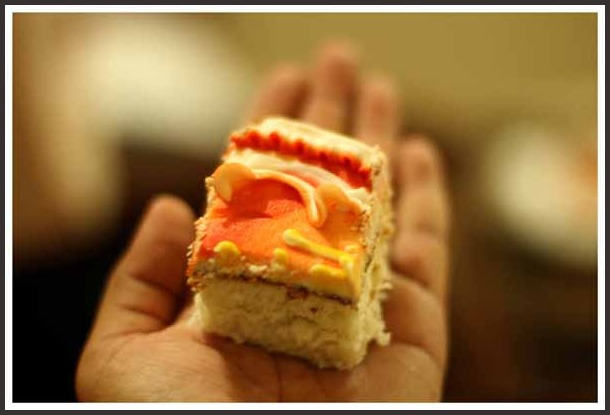 ...a piece of cake to all...