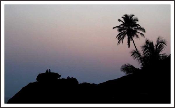 ...silhouette...