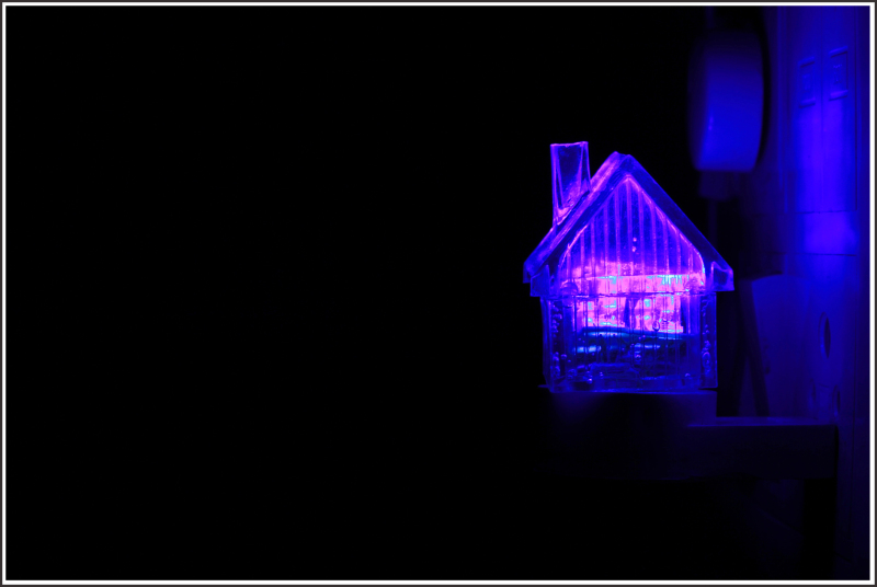 ...a home with a '' NIGHT LAMP''...
