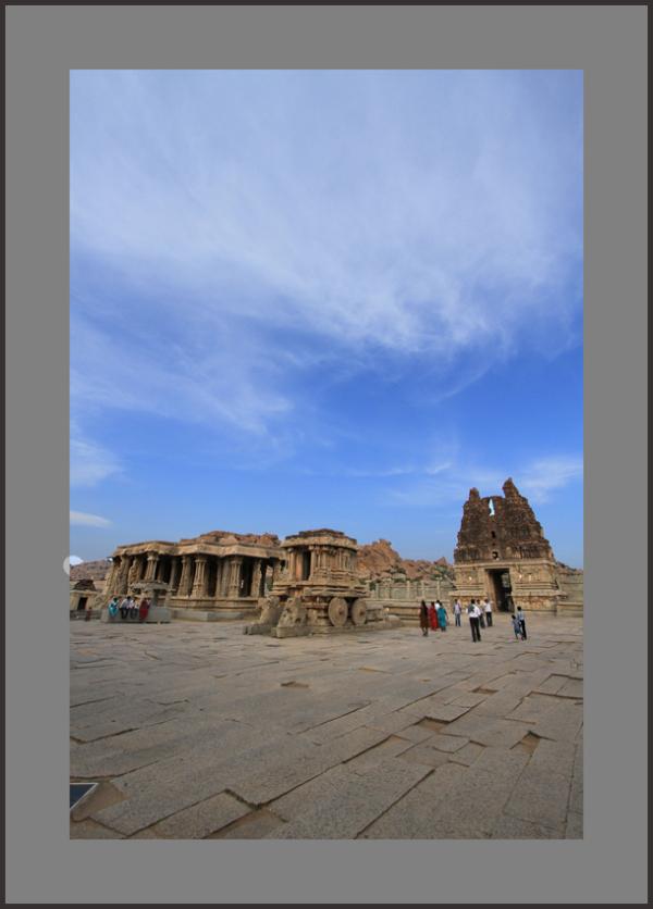 ...vitthala temple stone chariot...