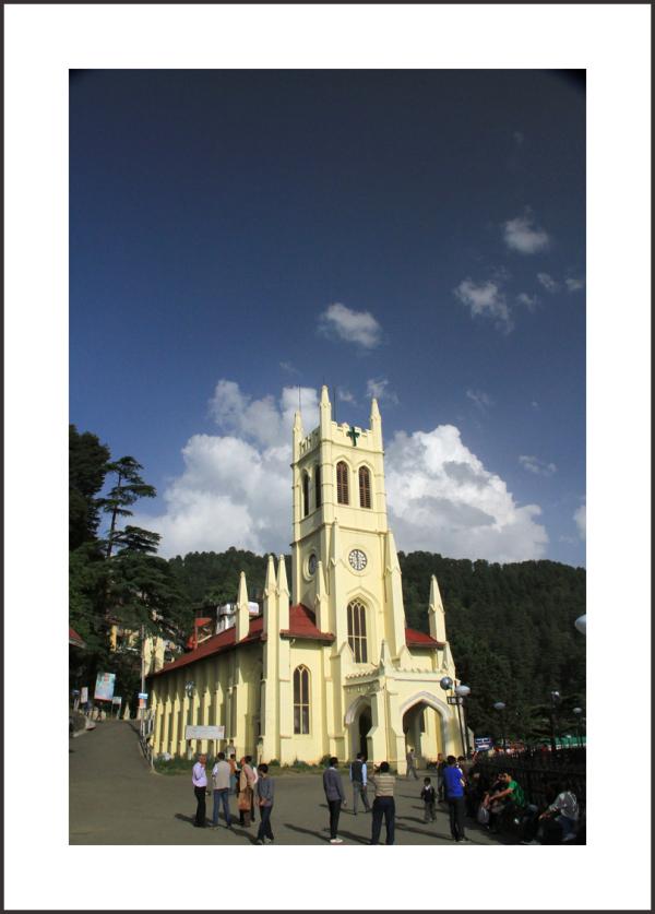 ... Christ Church , Shimla ( India )  ...