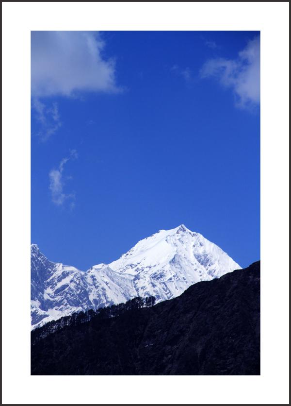 ... under a '' BLUE '' sky ...