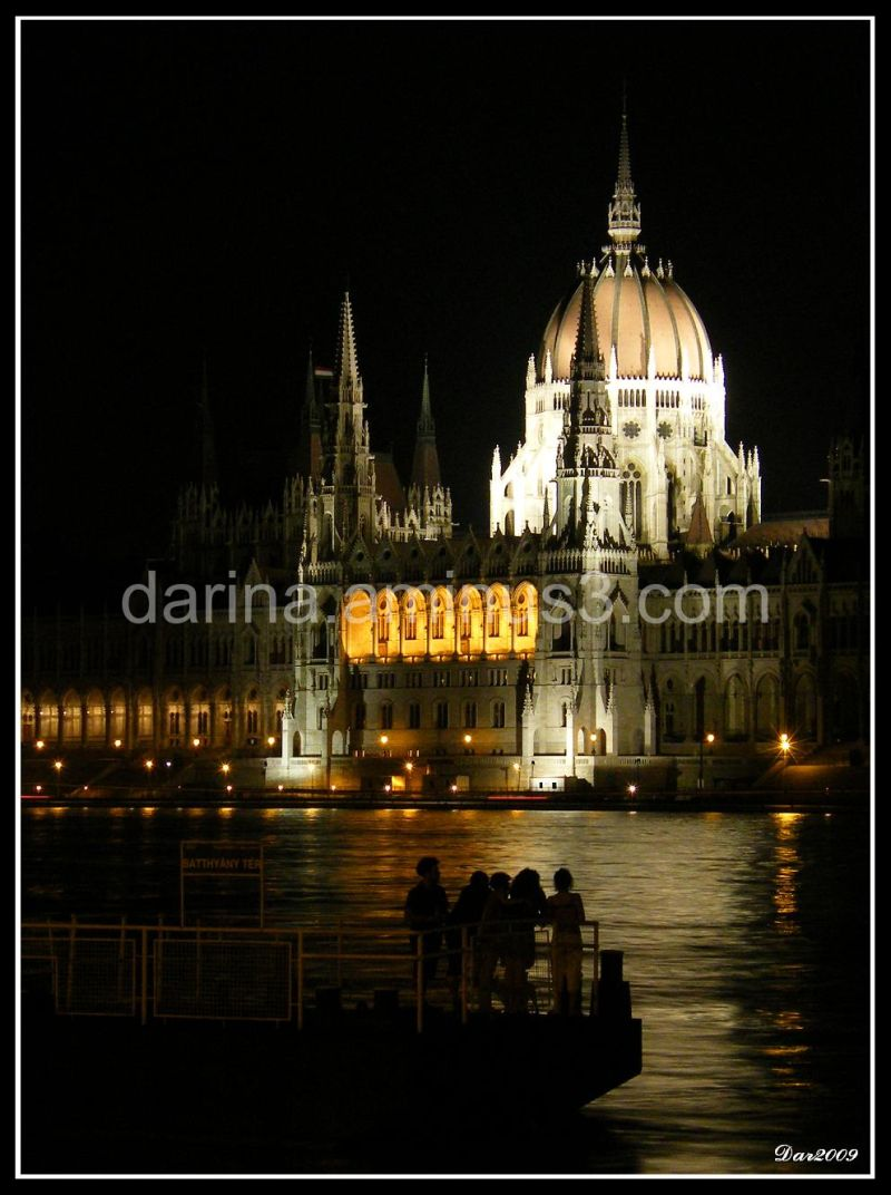 Budapest Parliament Before Midnight