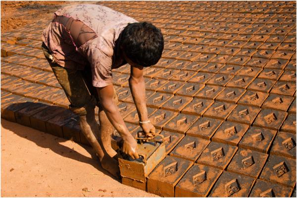 Brickkiln worker