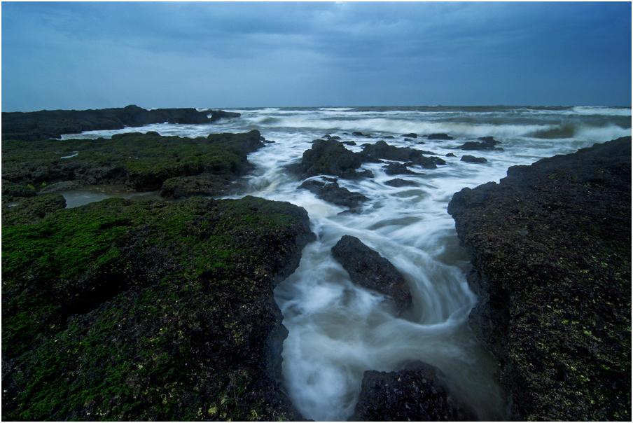 An evenning at Seashore 2