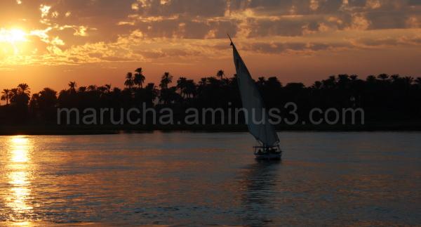 Feluka on Nile