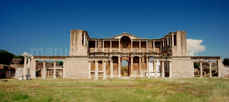Ancient Sardis in Turkey