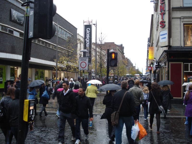 Glasgow (Ecosse), Octobre 2009